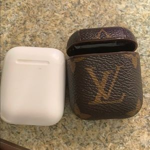 AirPod Charging Case and Louis Vuitton Cover